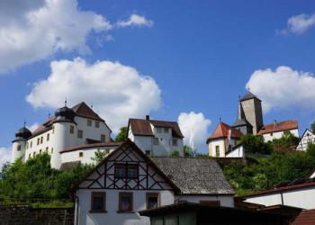 Aufseß mit Burg Unteraufseß
