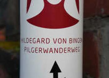 Wegweiser Hildegard von Bingen Weg