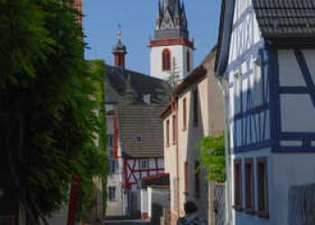 Altstadtgasse in Erbach