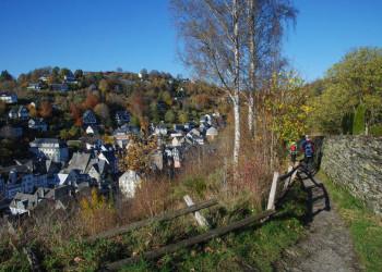 Abstieg nach Monschau