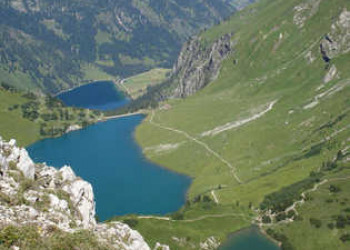 Drei Seen von Landsberger Hütte