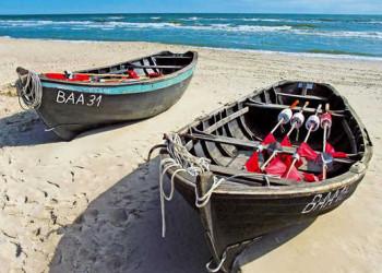 Fischerboote auf Rügen