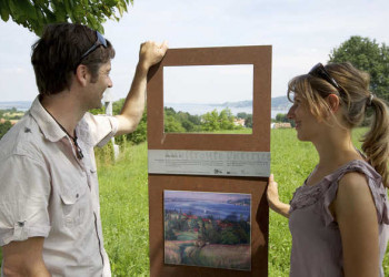 Auf der Kunstroute am Bodensee