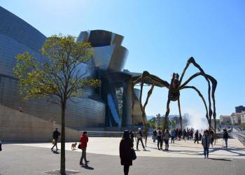 Vor dem Guggenheim