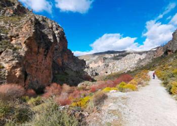 Wanderung in der Sierra Nevada