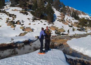 Schneeschuhwandern in Andorra