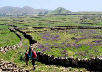 Wanderung über Weidehochland nach San Andrés