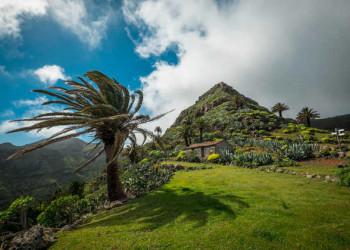 La Gomeras Berglandschaft