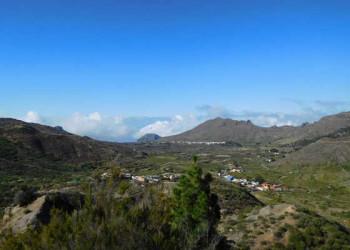 Blick auf das Tal von Santiago