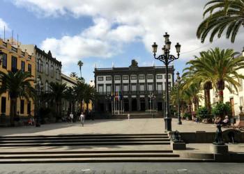 Plaza de Santa Ana in Las Palmas