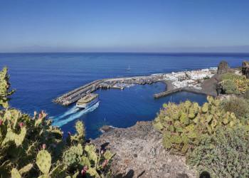 Blick auf Puerto de las Nieves