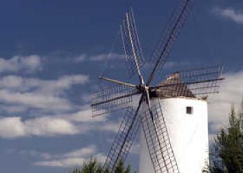 Windmühle in Sant Antoni