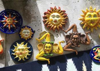 Sizilianische Keramikkunst in Erice
