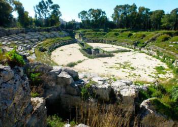 Theater im Archäologischen Park von Siracusayö