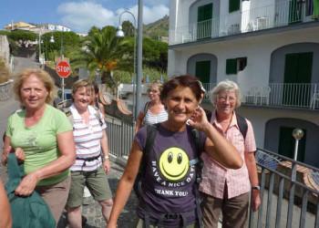 Gruppe auf Ischia