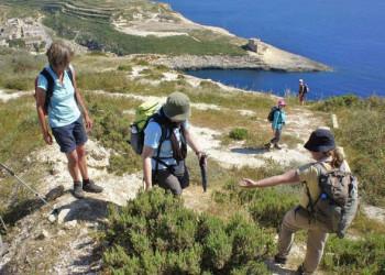 Wanderung auf Malta