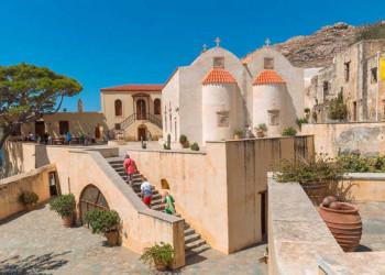 Kloster von Preveli auf Kreta
