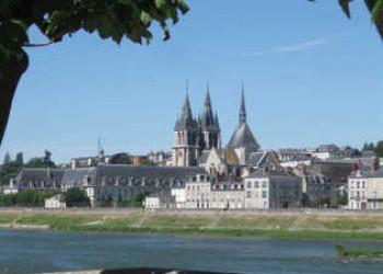 Blick auf Blois