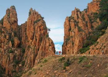 Zwischen den Felsen der Calanques