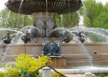 Brunnen in Aix