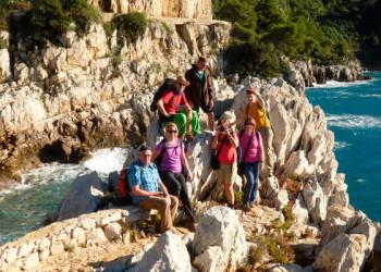 Küstenwanderung bei Nizza