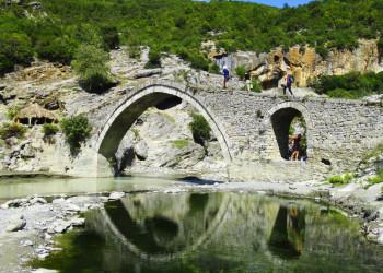 Bogenbrücke von Benja