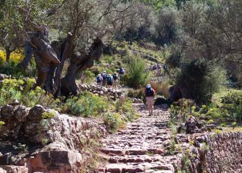 Steinstufen Mallorca Wanderer   © ASI 3_mallorca_297