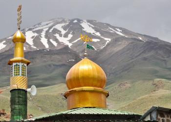 Goosfand Sara, Ausgangpunkt zur Damavan-BesteigungGoosfand Sara, Ausgangspunkt zum Damavand