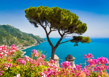 Blick auf die Amalfiküste