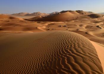 Oman-Blick-über-die-Dünen-in-der-Rub-Al-Khali