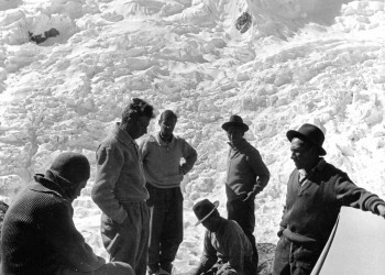 Günter Hauser | Alpamayo Erstbesteigung 1957