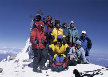 Gipfelbesteigung des Elbrus