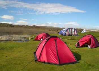 Zeltreisen in Island