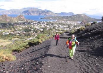 Wanderung auf den Gran Cratere auf Vulcano