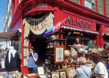 Eine Institution - der Trödelladen Alice's