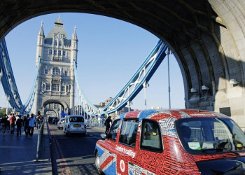 Auf der Tower-Bridge