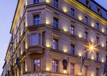 Außenansicht des Hotels Falkensteiner Maria Prag