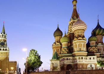 Dämmerung auf dem Roten Platz