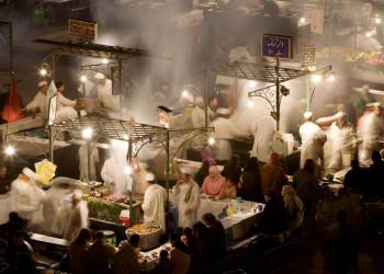 Nachtmarkt in Marrakesch
