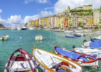 Portovenere an der Riviera del Levante bei Genua
