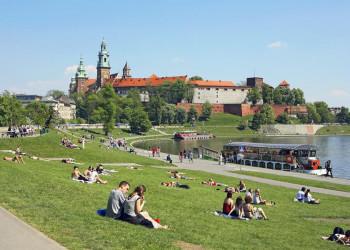 Am Ufer der Wawel