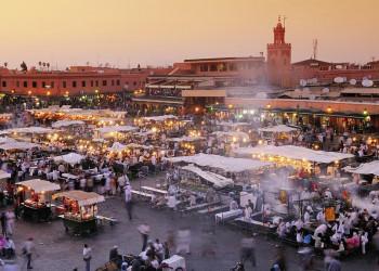 Abendsonne in Marrakesch