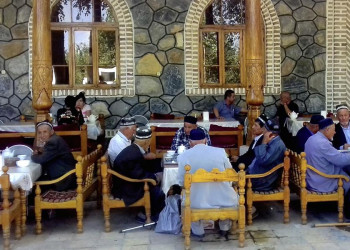 Teestube Buchara Usbekistan