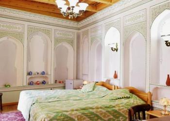 Hotelzimmer im Minzifa BucharaUsbekistan