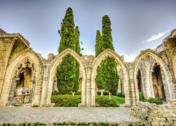 Die Abtei Bellapais im nördlichen Teil von Zypern