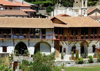 Das Hotel Casale Panayiotis im Troodosgebirge
