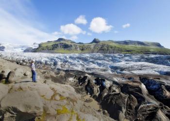 Gletscherzunge Svinafelljökull