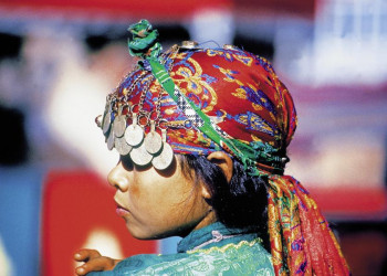 Farbentaumel des Orients