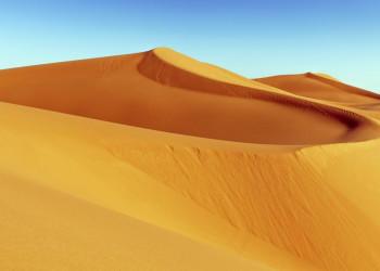Sanddünen in der marokkanischen Sahara