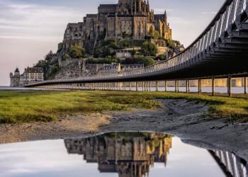 Mont St-Michel der Fels in der Brandung